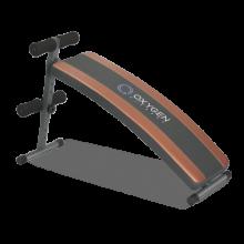 Изогнутая cкамья для пресса Oxygen Arc Sit Up Board