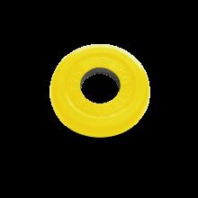 Диск обрезиненный желтого цвета, 1,25 кг 50 MB-PLTC50-1.25