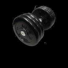 Гантель неразборная черная 31 кг MB-FdbM-B31