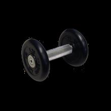 Гантель неразборная черная 3.5 кг MB-FdbM-B3,5