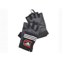 Перчатки тяжелоатлетические (кожа) ADGB-12125 – размер L/XL