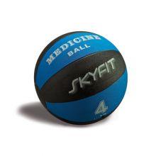 Медицинский мяч 4кг, цвет – черно/синий